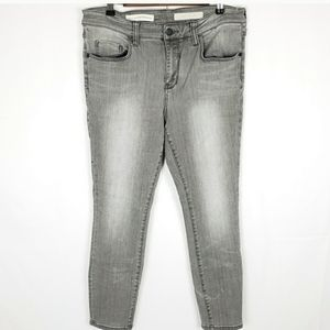 Pilcro and the Letterpress Stet Skinny Ankle Jean